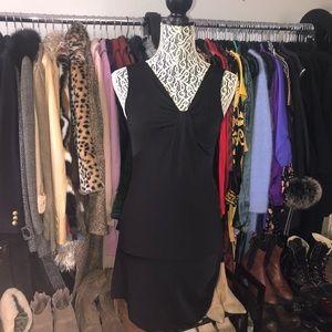 VERSUS Gianni Versace vintage little black dress